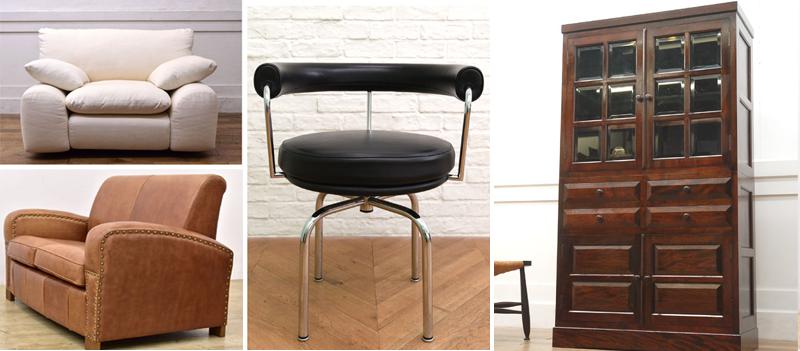 デザイナーズ家具・民芸家具・北欧家具などのブランド家具を高額買取致します。